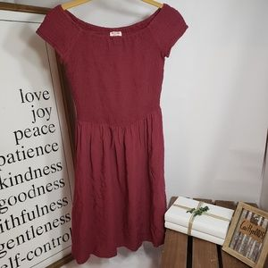 Fun Mossimo Red Dress
